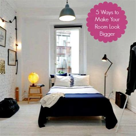 tips to make a small bedroom look bigger 5 easy tips to make your small room look bigger diy