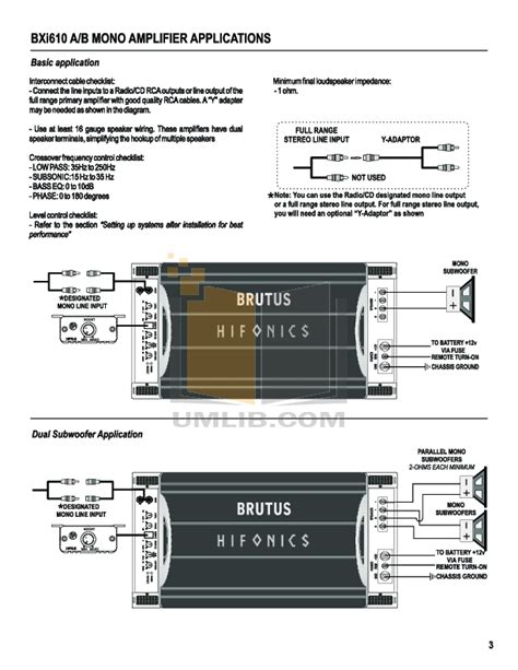 hifonics wiring diagram wiring diagram