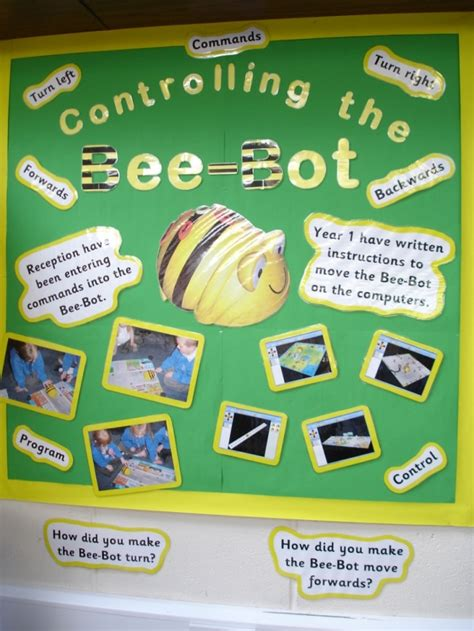 new year ict eyfs controlling the bee bot display teaching ideas
