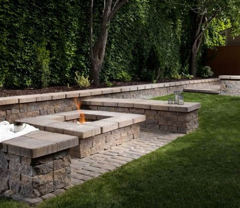 contemporary firepit a contemporary pit for the home