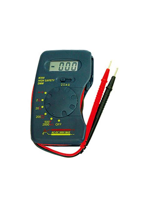 Pocket Size Digital Multimeter M300 all sun m300 etl marking pocket size dmm