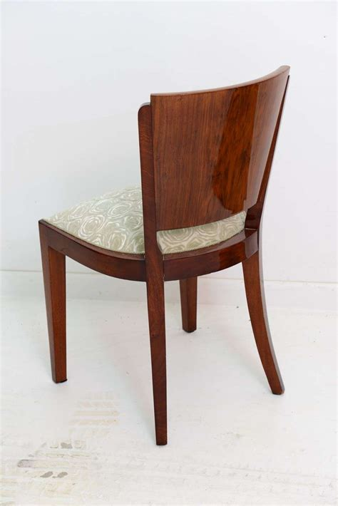 6 french art deco dining chairs at 1stdibs french art deco dining set with 6 chairs at 1stdibs