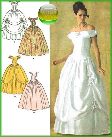 pattern for ariel blue dress 162 best images about bridal sewing patterns on pinterest