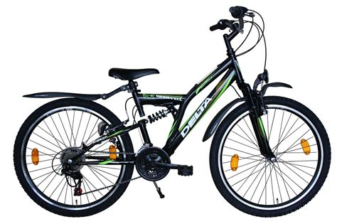 26 Zoll Mountainbike 18 Shimano Stvzo Mit Beleuchtung