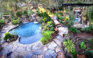 backyard paradise landscaping backyard landscaping paradise 30 spectacular natural