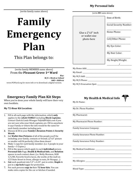 emergency preparedness 187 post topic 187 your family s