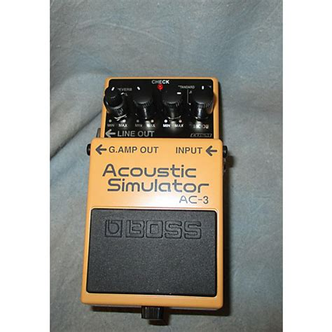 Acoustic Simulator Ac 3 Bekas used ac3 acoustic simulator effect pedal guitar center