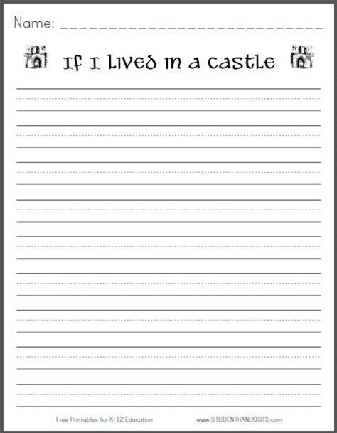 castle writing paper 49 best images about daily 5 work on writing on