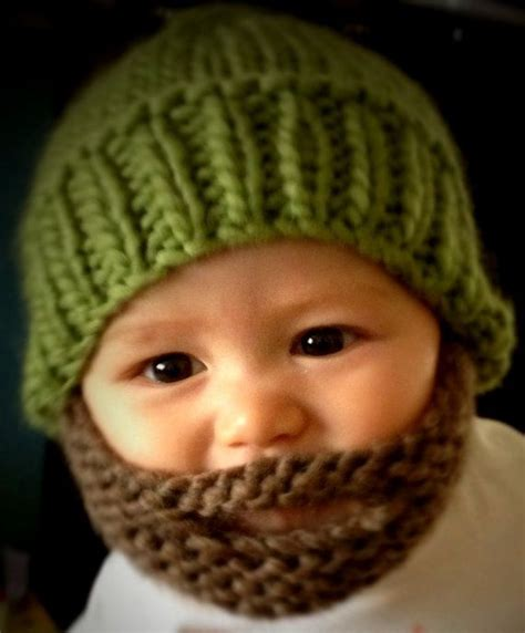 knitted baby beard theweeoneboutique sells knitted baby beards for