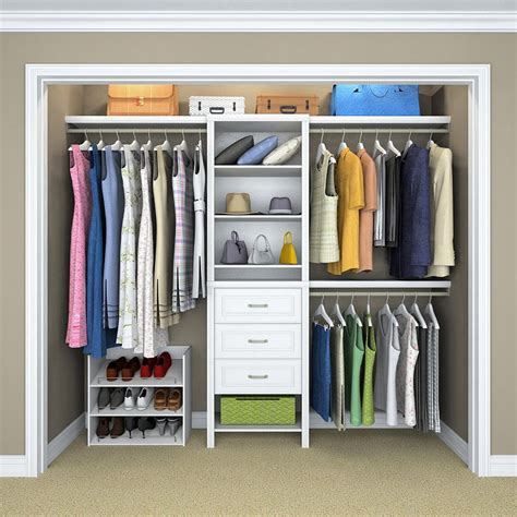closetmaid 5 feet 10 feet top 5 closet systems