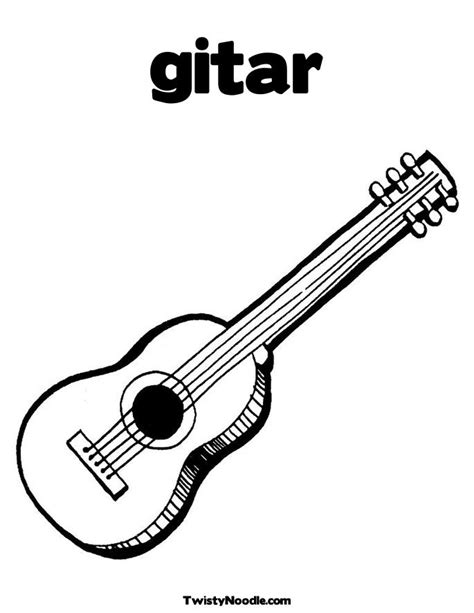 mariachi guitar coloring page how to draw flying v guitar