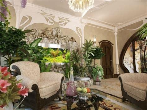 Living Room With Garden Indoor Garden Living Room Home Decorating Ideas