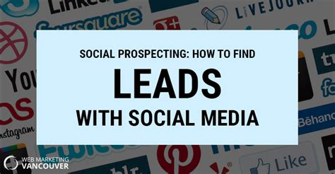 Social Media Finder Social Prospecting How To Find Leads With Social Media