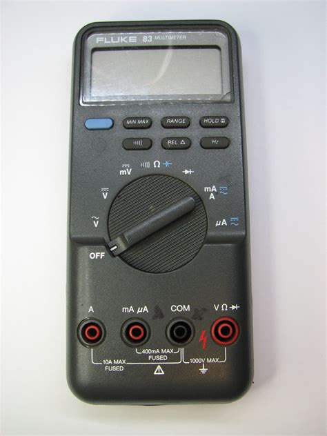 Multimeter Fluke 83 fluke 83 dmm repair mr modemhead