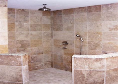 walk in shower tile ideas home interior and furniture ideas