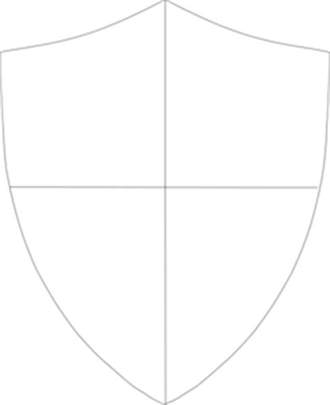 template of knights shield shield template 288 clip at clker vector clip royalty free domain