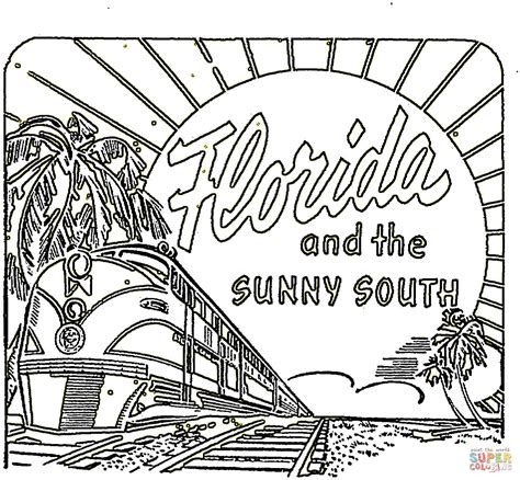 florida keys coloring pages florida coloring page coloring home