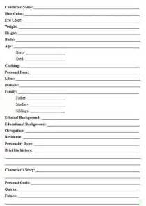 character biography template 25 best ideas about character profile on