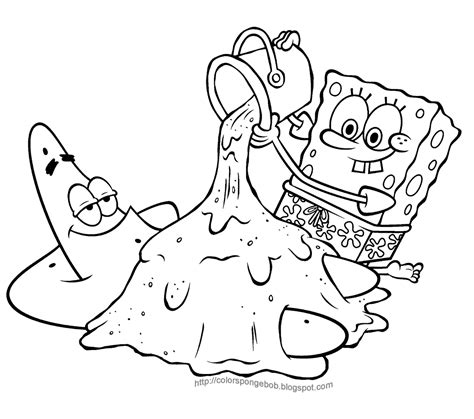 gangsta spongebob coloring page ganster sponge bob coloring pages