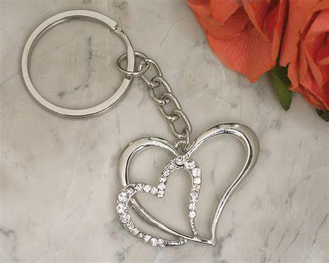 Wedding Favors Keychains by Chrome Keychain My Wedding Favors