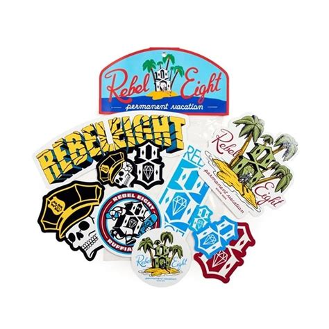 8 Accessories For Summer by Rebel 8 Summer Sticker Pack 10 00 Accessories
