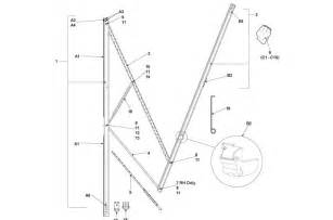 Dometic Awning Parts Diagram by Laurelhurst Distributors Parts Breakdown Awnings