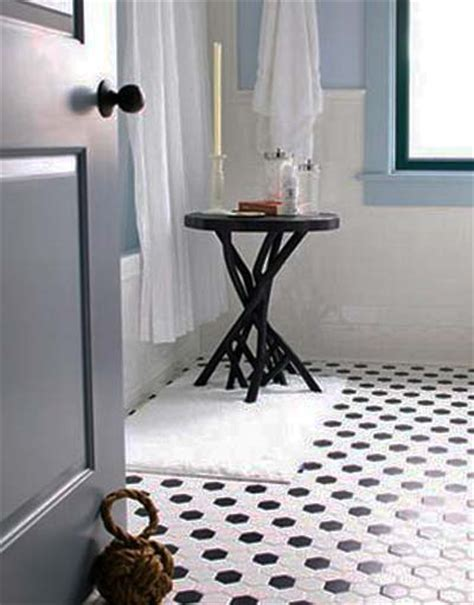 black and white tile bathroom floor lulu belle design black tile