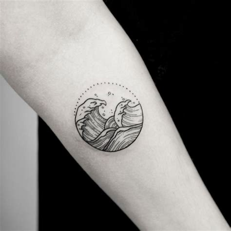 waves tattoo meaning 20 powerful wave tattoos