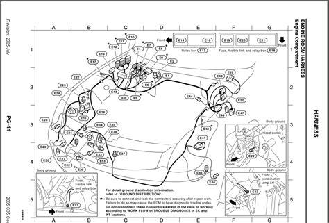 infiniti  engine diagram infiniti wiring diagram images