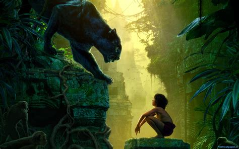disney jungle wallpaper 2016 the jungle book movie poster wallpapers