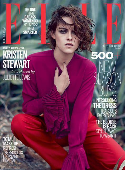 Is Elles September 2008 Cover by Kristen Stewart S September Cover Kristen