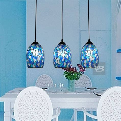 blue pendant lights kitchen 15 ideas of blue pendant lights for kitchen