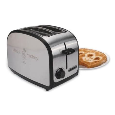 Disney Toaster Disney Classic Mickey Mouse Two Slice Toaster