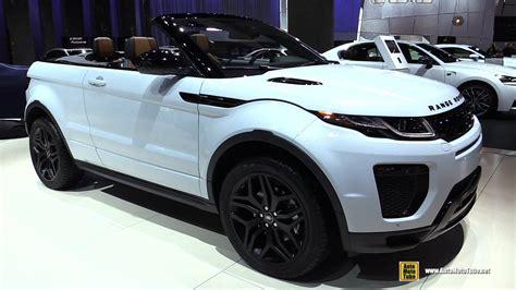 land rover convertible interior 2017 range rover evoque convertible hse dynamic exterior