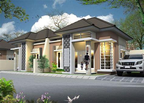 desain depan rumah minimalis dengan batu alam model rumah minimalis sederhana 1 lantai tak depan
