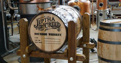 barreled distillery 1 books family run startup jeptha creed distillery fills 1st