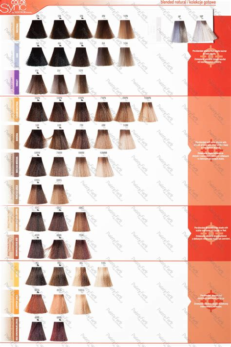 matrix hair colour ebay electronics cars fashion matrix color sync color chart