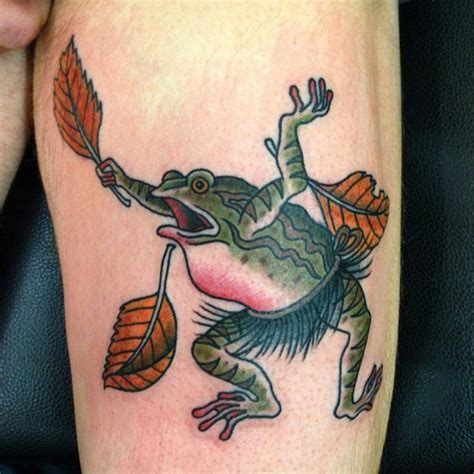tattoo japanese frog 80 lucky frog tattoos