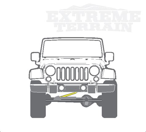 what does a track bar do on a jeep jeep wrangler track bars explained extremeterrain