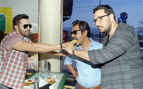 Eat and greet: Varun Dhawan, Nawazuddin Siddiqui promote ...