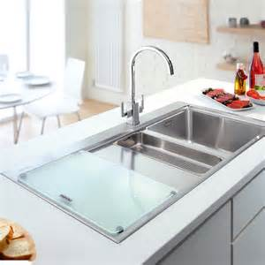 Kitchen Sink Food Franke Glass Kitchen Sink Food Preparation Board 112 0046 415 Ebay
