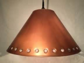 punched copper l shades punched tin l shade pendant light custom metal