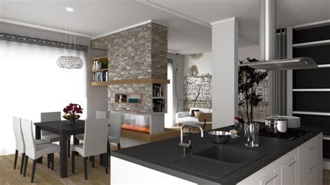 arredare cucina a vista arredare lo spazio di un living con cucina a vista