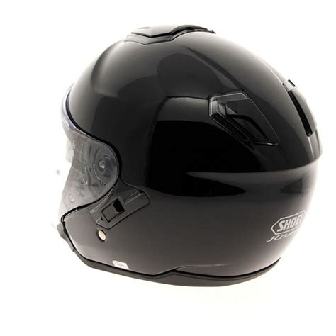 Helm Shoei J Cruise Black shoei j cruise gloss black open motorcycle