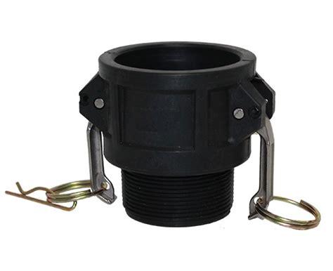 Coupler 20 Pp polypropylene camlock fittings banjo camlock couplings