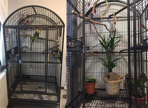 gabbie pappagalli usate allestimenti interni