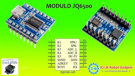 Jq6500 Voice Sound Module Usb Replace One To 5 Way Mp3 Voice Standard icstation jq6500 mp3 voice sound module usb