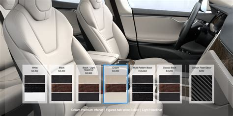 tesla model 3 interior seating tesla dumps leather seating option as company goes cruelty