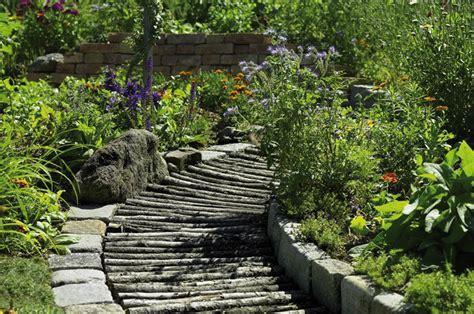 Garten Terrassenformig