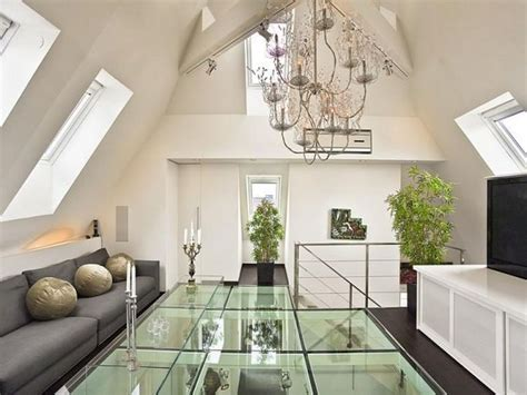 loft apartment with glass floor design home design inspiration